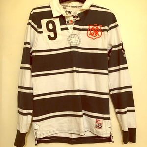 ba37dc9d13f SuperDry Long Sleeve Henley Maroon Large shirt!!  M_5b84dcb2d8a2c7923b0d9846. Other Shirts you may like. Superdry Rugby jersey  (Ireland)